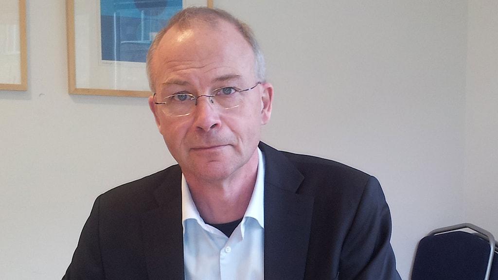 Chefsläkare Pelle Gustafson