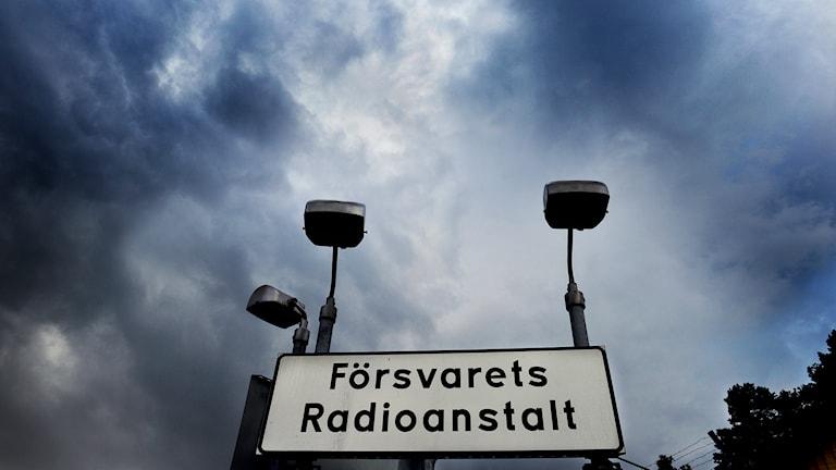 Försvarets Radioanstalt. Foto: TT
