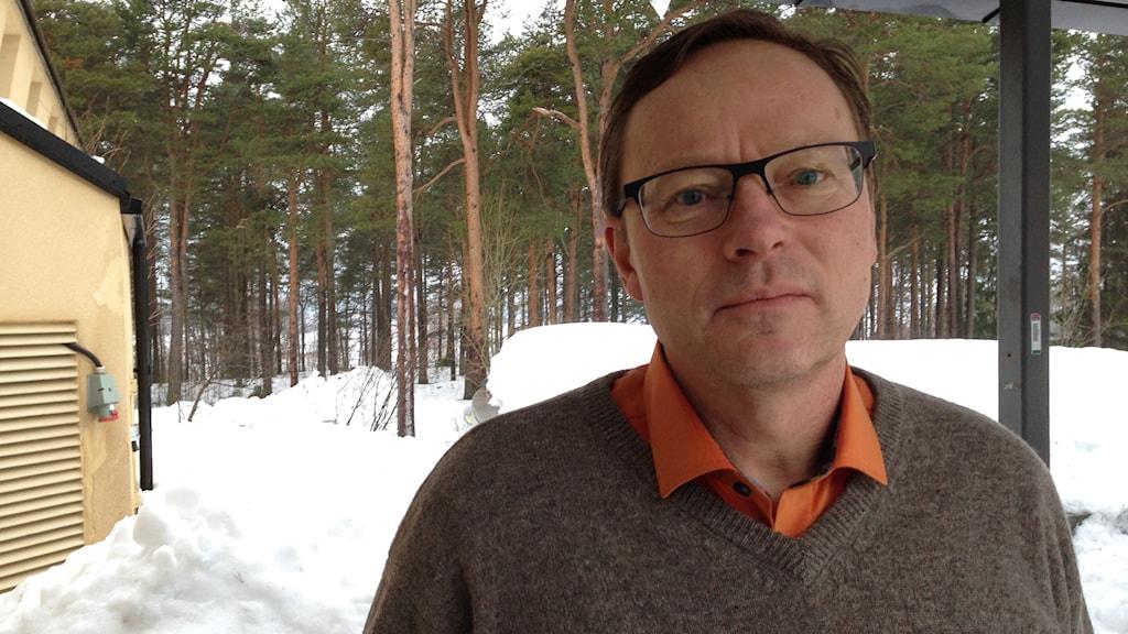 Ulf Bergelin, enhetschef länsstyrelsen Norrbotten naturvårdsenheten. Foto: Nils Eklund / Sveriges Radio
