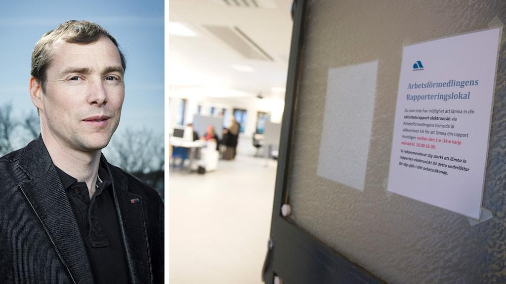 Lars Hildingsson, andra förbundsordförande i Byggnads, vill se en mer aktiv jobbpolitik. Foto: Knut Koivisto och Bertil Enevåg Ericson / TT