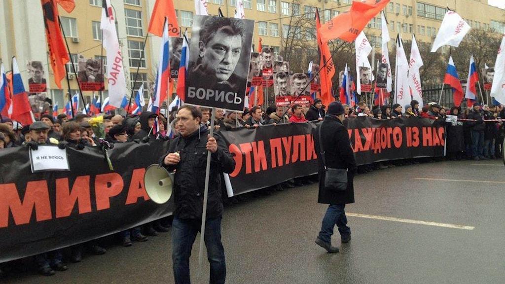 MPL, Moskva, Boris Nemtsovs, Mord, Sorgemarsch