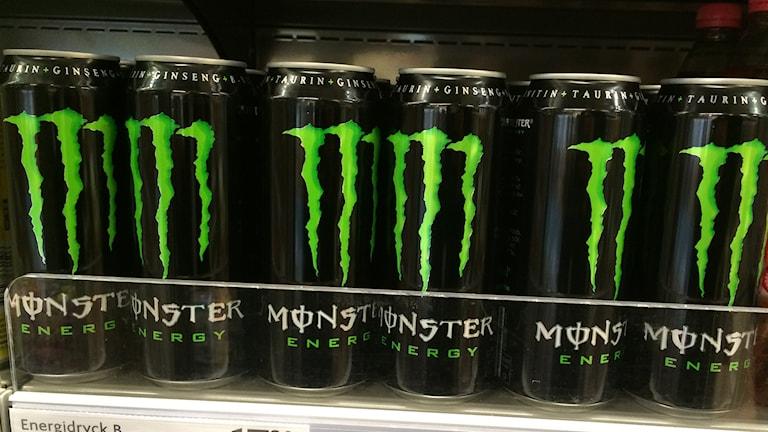 Energidryck, Monster