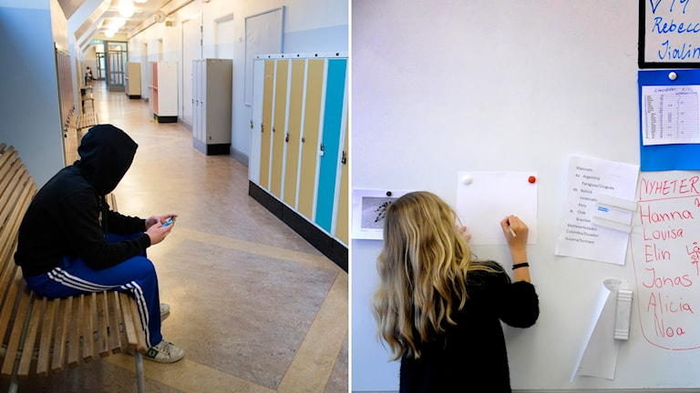 Stora skillnader mellan flickors och pojkars reslutat i skolan. Foto: TT
