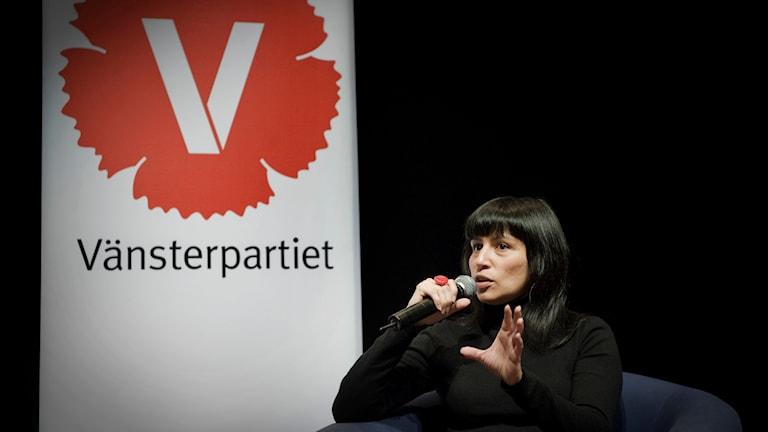 Rosanna Dinamarca, Vänsterpartiet. Foto: TT