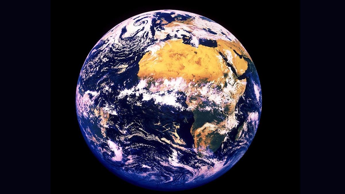 jorden från rymden