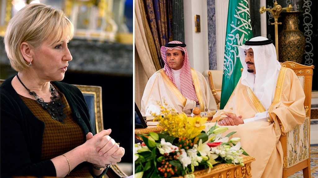 Saudi, Wallström, Salman