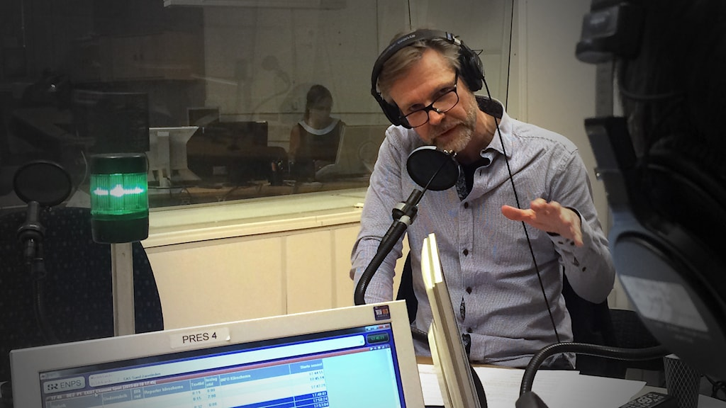 Ekots inrikespolitiska kommentator Tomas Ramberg. Foto: Pablo Dalence/Sveriges Radio