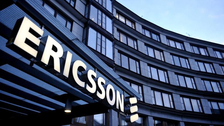 Ericsson office. Photo: TT.