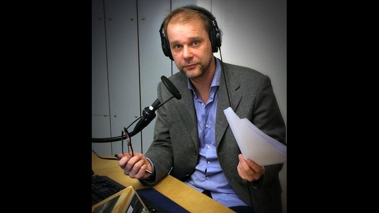 Kristian Åström, ekonomikorrespondent. Foto: Pablo Dalence/Sveriges Radio.