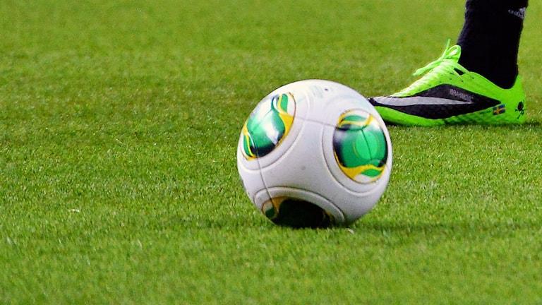 En fotboll. Foto: TT.