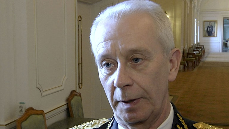 ÖB  Sverker Göranson. Foto: Tove Eriksson/TT