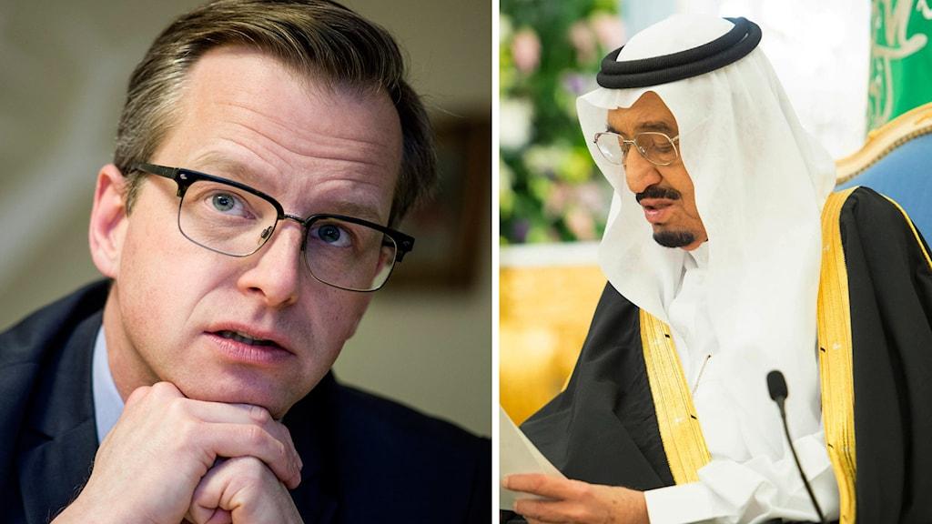 Mikael Damberg, Saudi