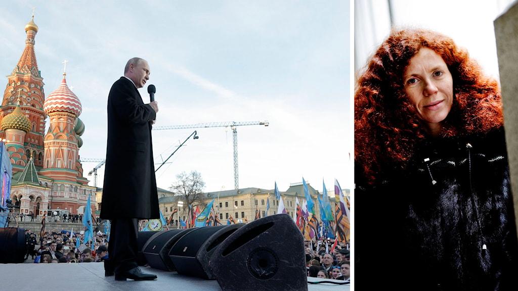 Journalisten Julia Latynina har lämnat Ryssland. Foto: TT
