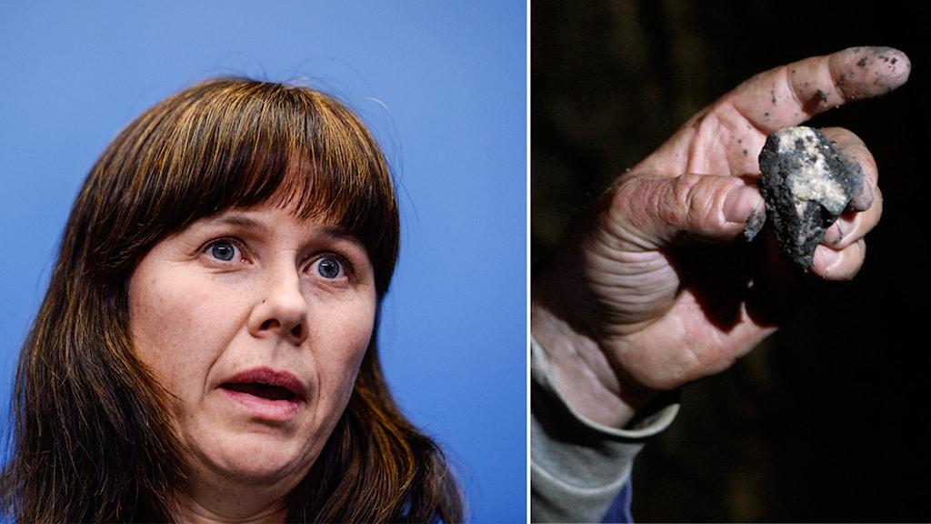 Åsa Romson, uranium