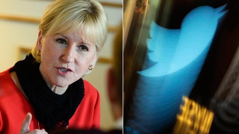 Wallström, Twitter