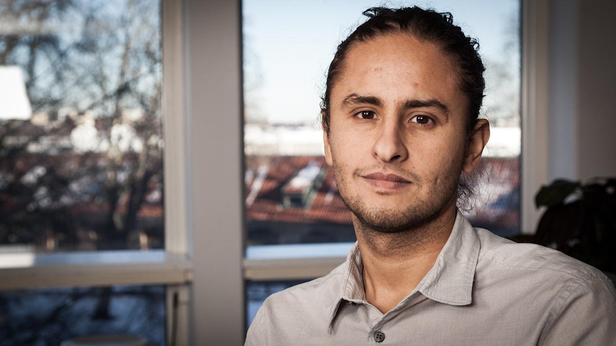 Fernando Arias, Sveriges Radio Ekot, november 2014. Foto: Pablo Dalence/Sveriges Radio.
