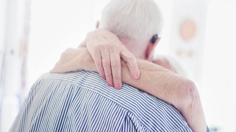 Äldre man, läkare, undersökning, prostata