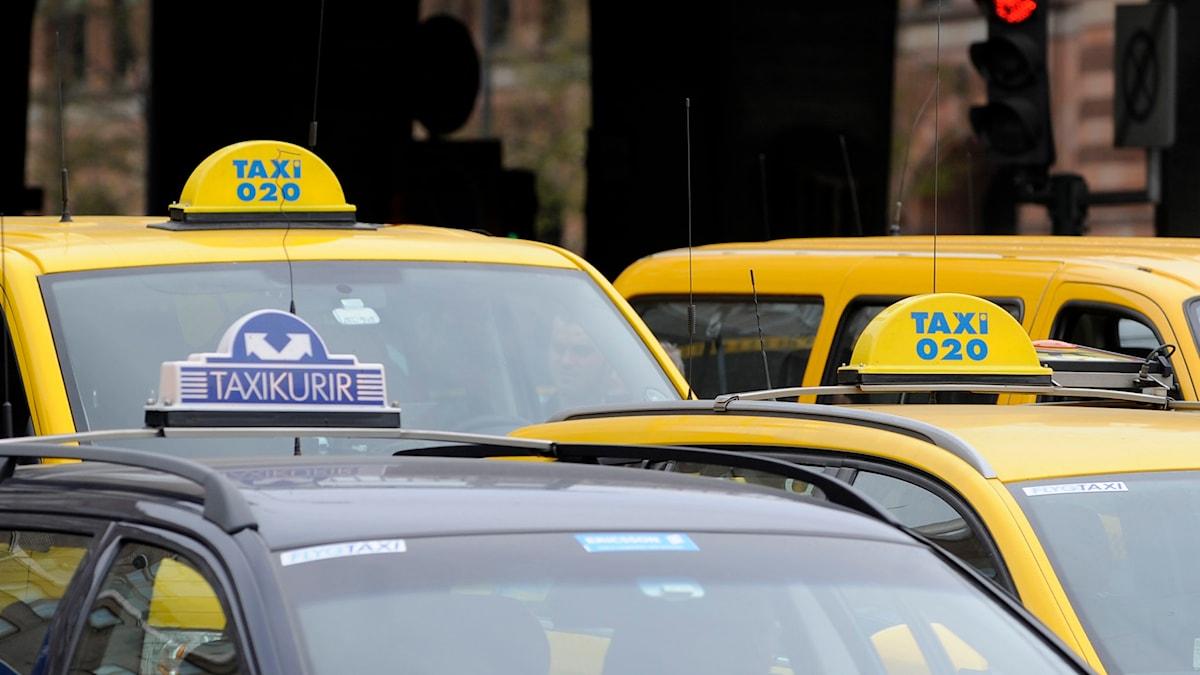 Fågelviksgruppen driver beställningscentraler och taxiväxlar för bland andra Taxi Kurir och Taxi 020. Foto: Bertil Ericson / TT.