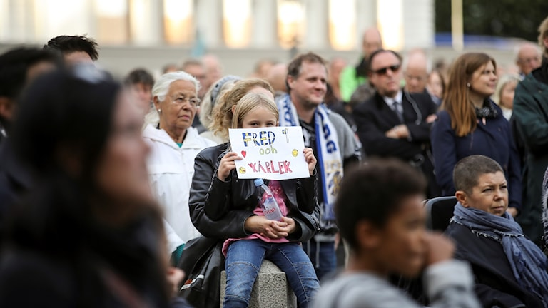 Manifestation i Göteborg