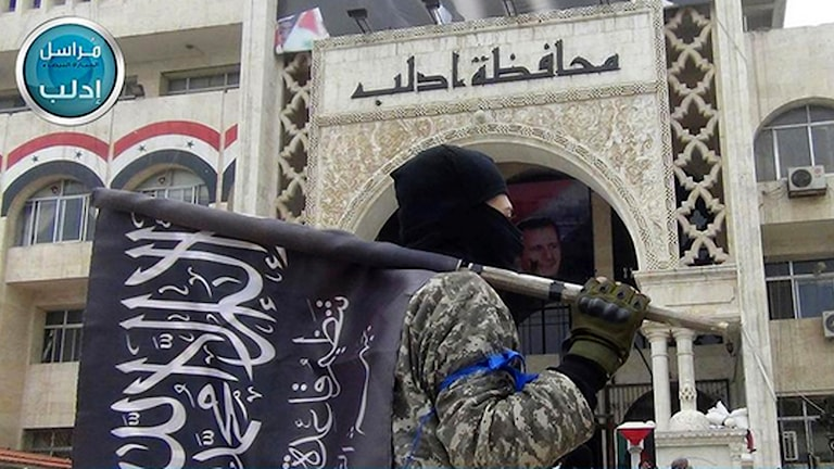al Quaida-anknutna Nusrafrontens egna bilder från Idlib den gångna helgen.