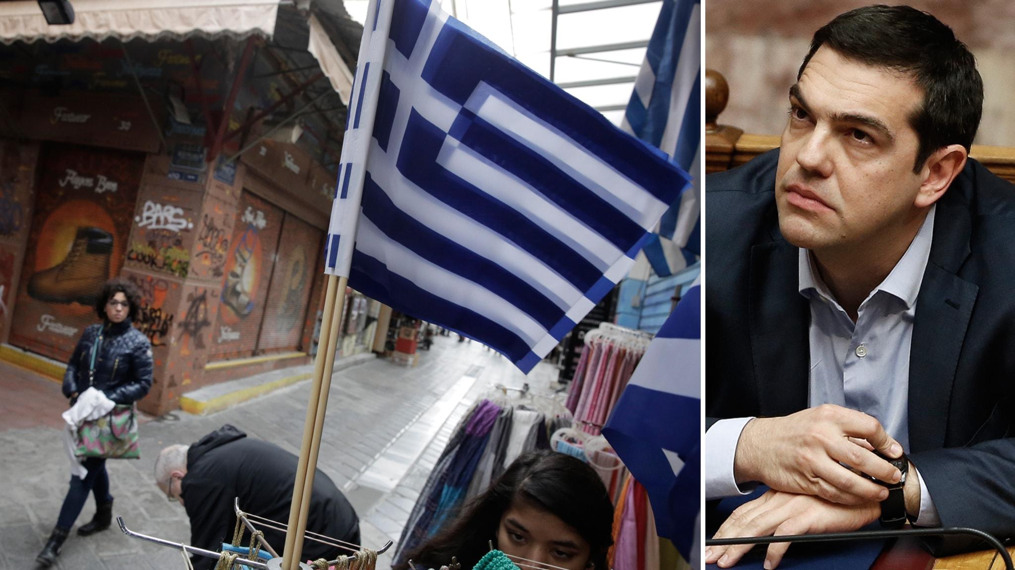 Grekisk statskassa snart tom