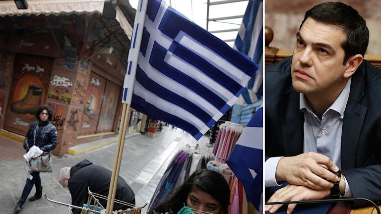 Alexis Tsipras, premiärminister i Grekland. Foto: TT