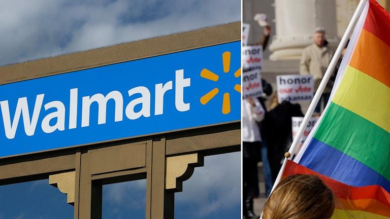 Wallmart gaylag diskriminering Arkansas Foto: Damian Dovarganes/AP. Foto: Danny Johnston/AP