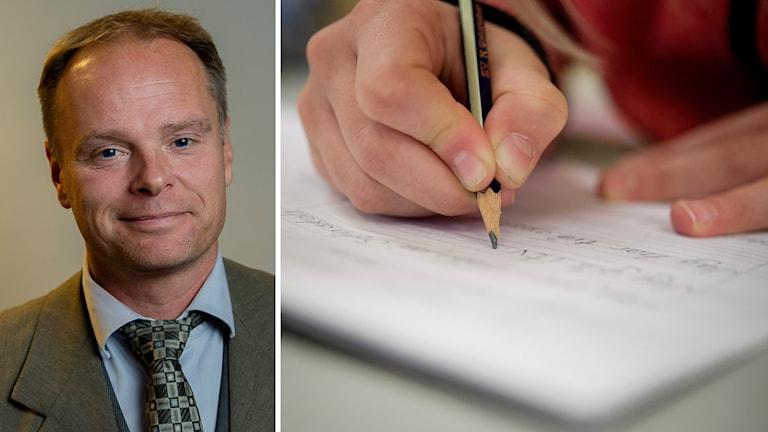 Stefan Jakobsson, Sverigedemokraternas skolpolitiske talesperson. Foto: TT