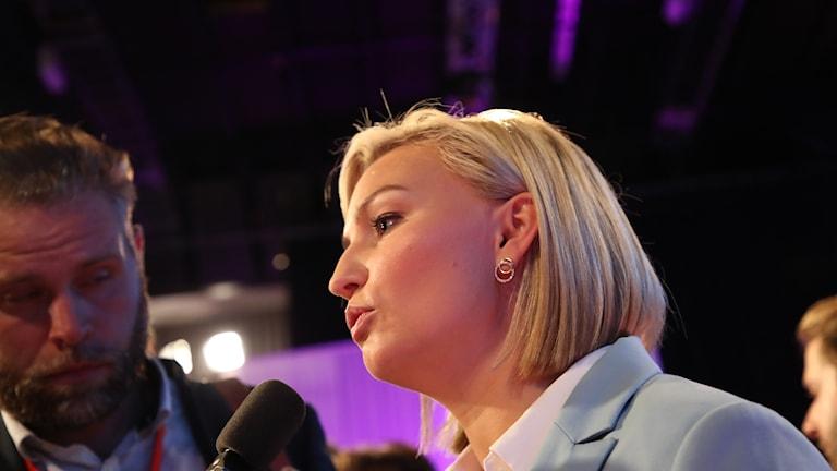 Ebba Busch Thor öppnade för fler kärnkraftverk