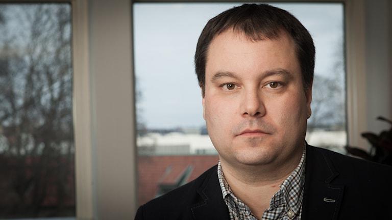 Michael Österlund. Foto: Pablo Dalence/Sveriges Radio.