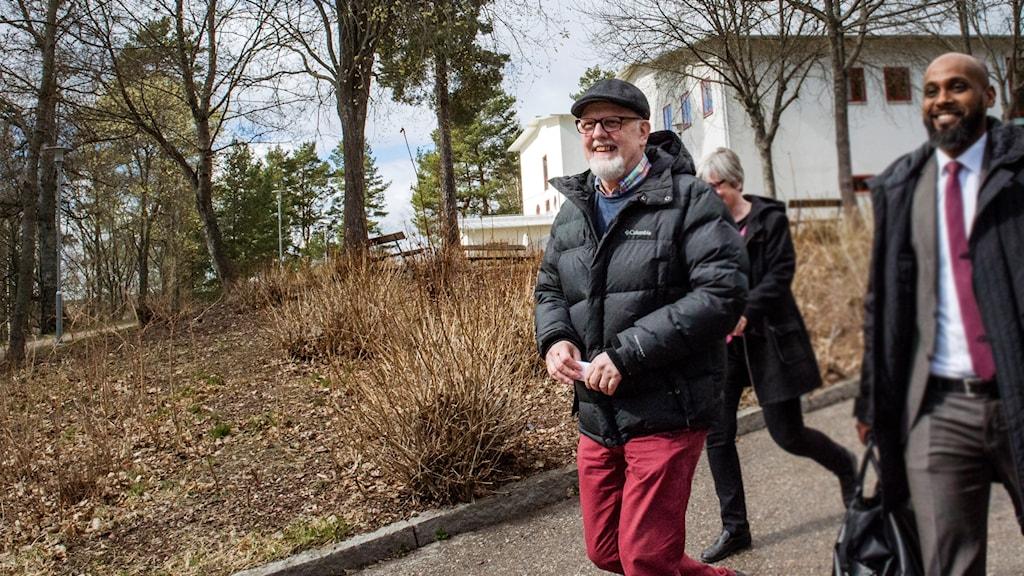 Sture Bergwall fri från Säter