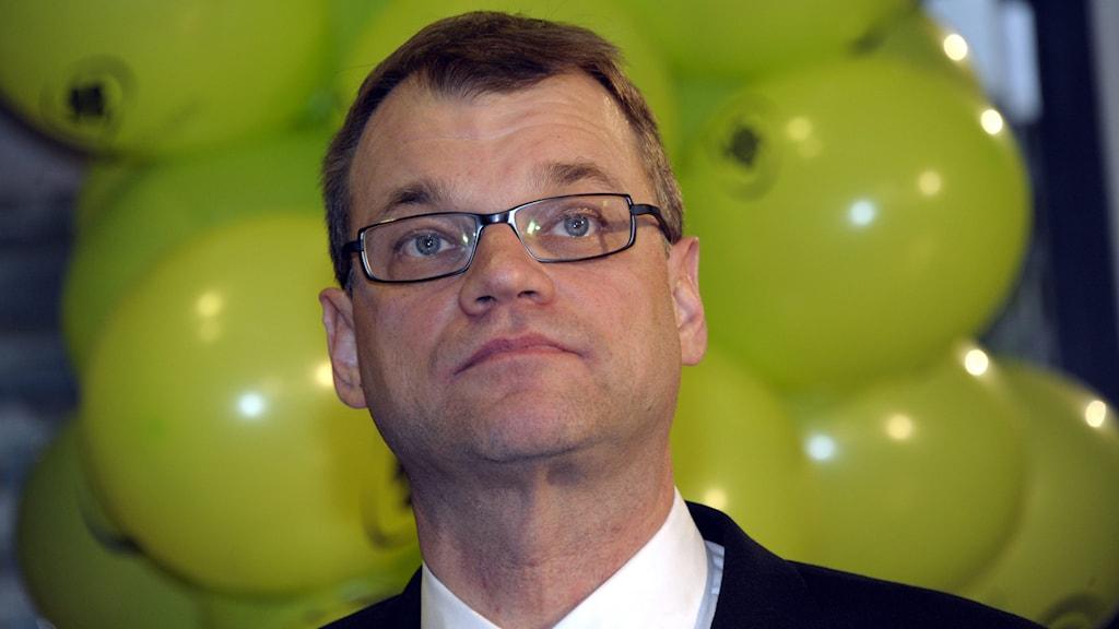 Juha Sipilä, ordförande för finska Centerpartiet. Foto: TT