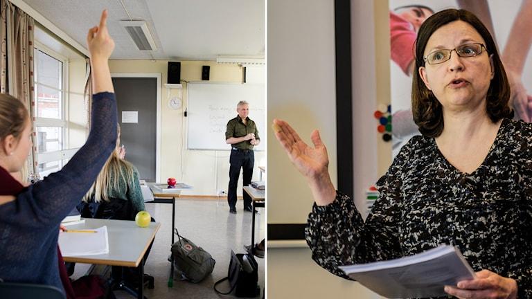 Anna Ekström, generaldirektör på Skolverket. Foto: TT