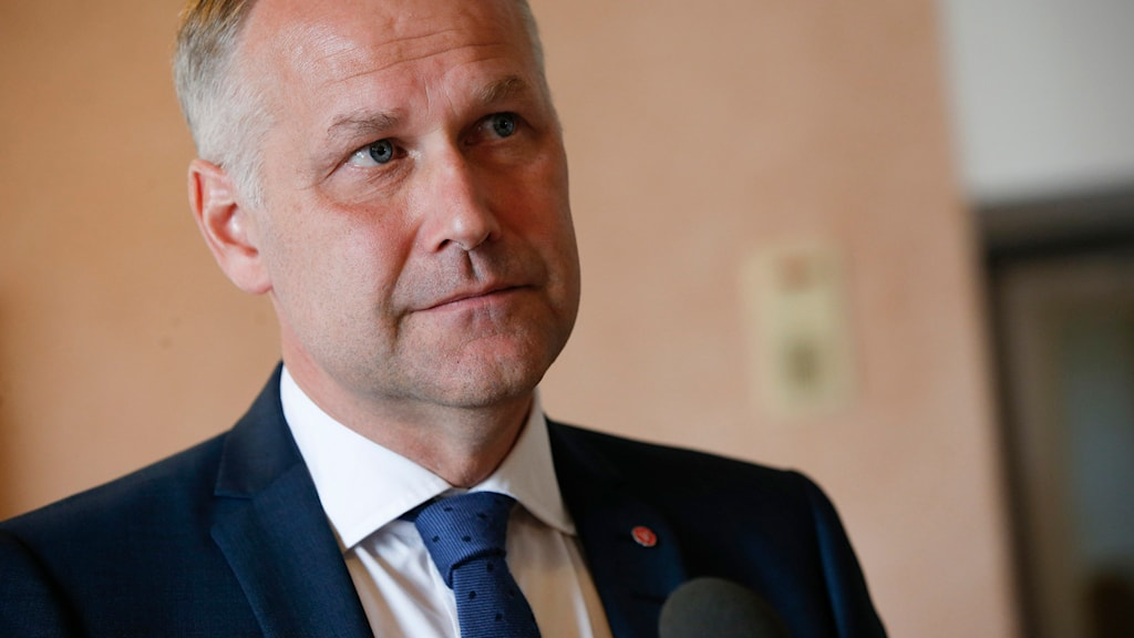 Jonas, Sjöstedt, vänsterparitet. Foto: Fredrik Persson/TT.