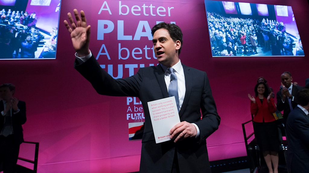 Ed Miliband. Foto: Jon Super/TT.