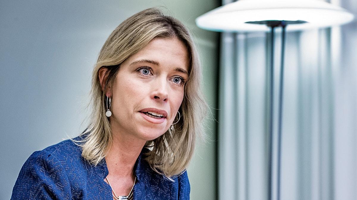 Socialförsäkringsminister Annika Strandhäll. Foto: Tomas Oneborg/TT