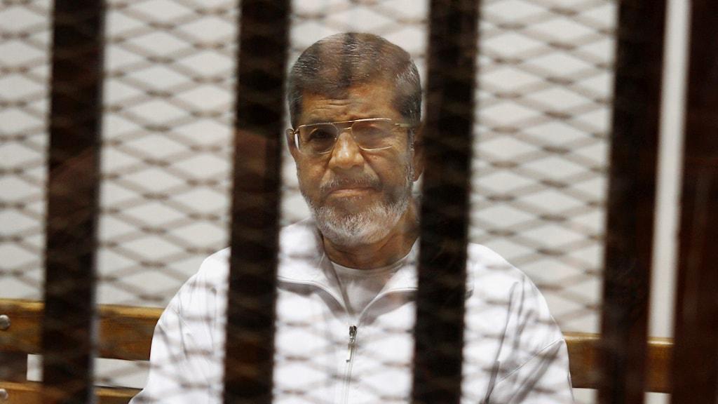 Muhammad Mursi, fängelse, Egypten