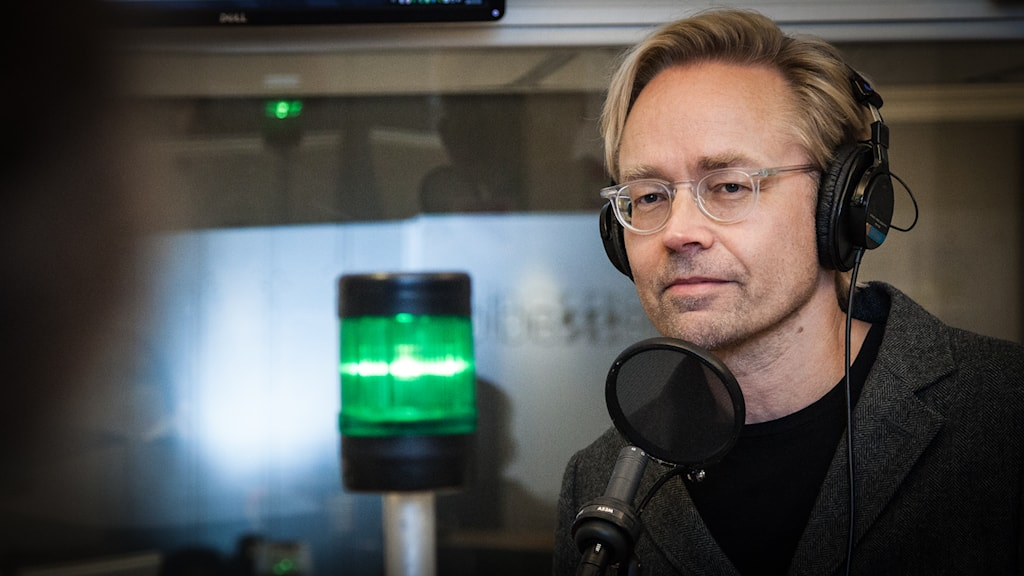Ekots inrikespolitiske kommentator Fredrik Furtenbach. Foto: Pablo Dalence/Sveriges Radio.
