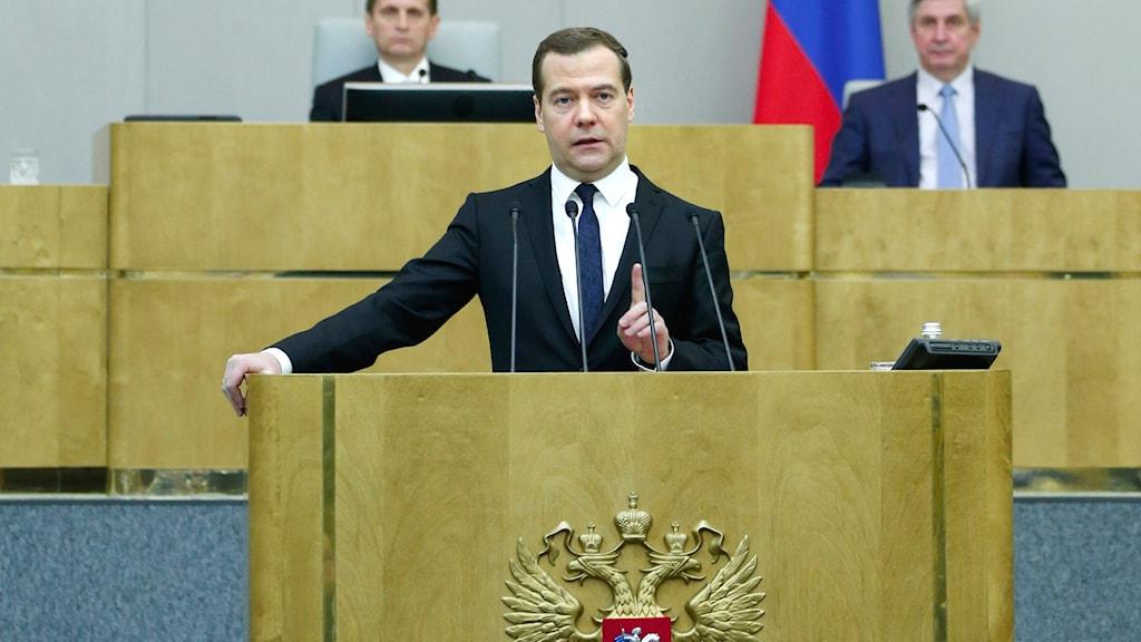 Medvedev, premiärminister, Ryssland, Duman, Parlamentet