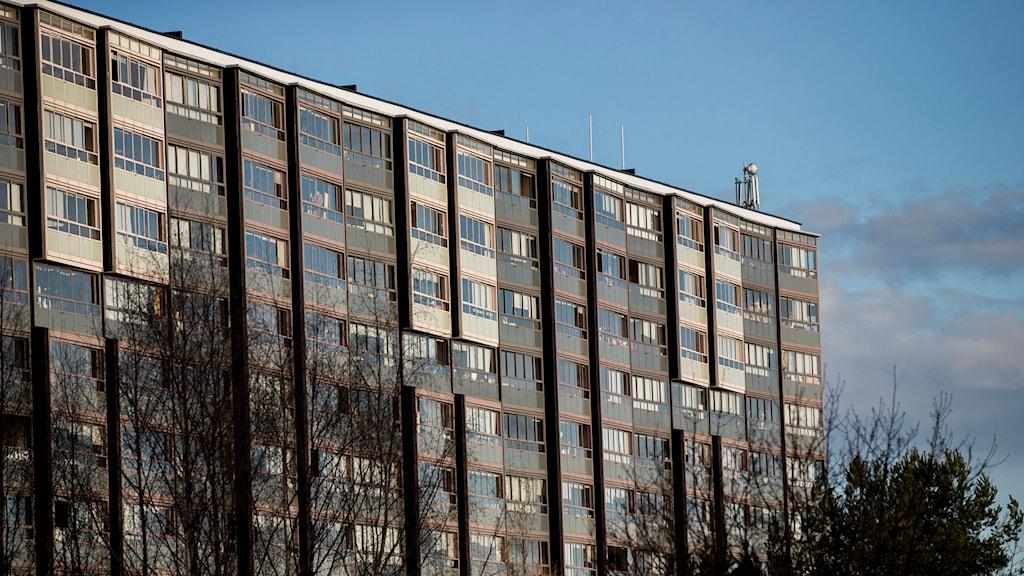 Flerfamiljshus. Foto: Grøtt, Vegard Wivestad/TT