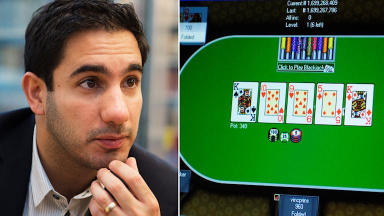 Ardalan Shekarabi , nätcasino, online, spel