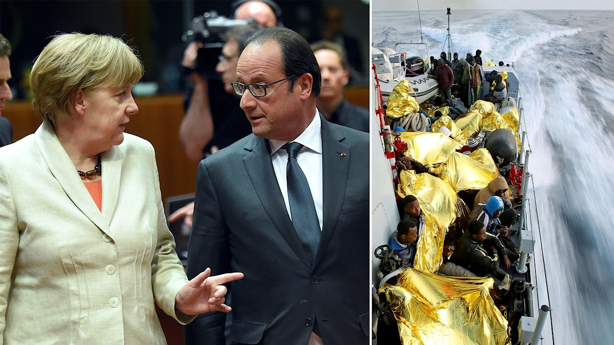 Bryssel, flyktingar, EU-toppmöte