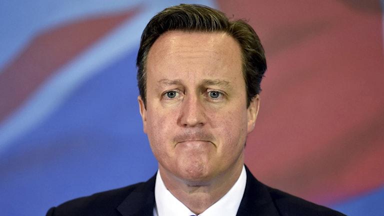 Storbritanniens premiärminister David Cameron. Foto: Toby Melville/AP.