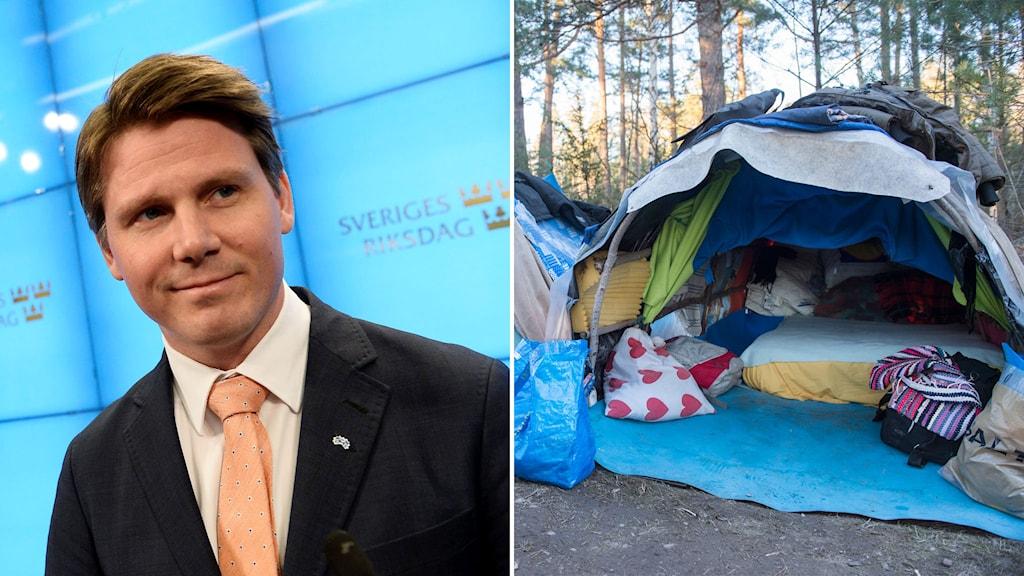 Folkpartiets ekonomisk-politiske talesperson Erik Ullenhag var tidigare migrationsminister. Foto