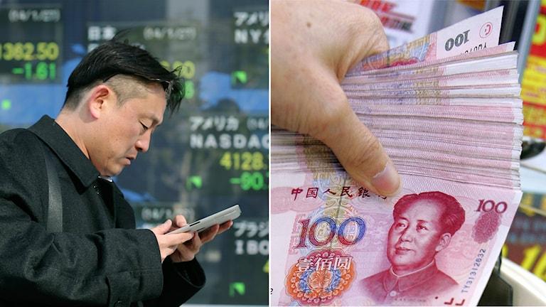 Yuan, Kina, ekonomi