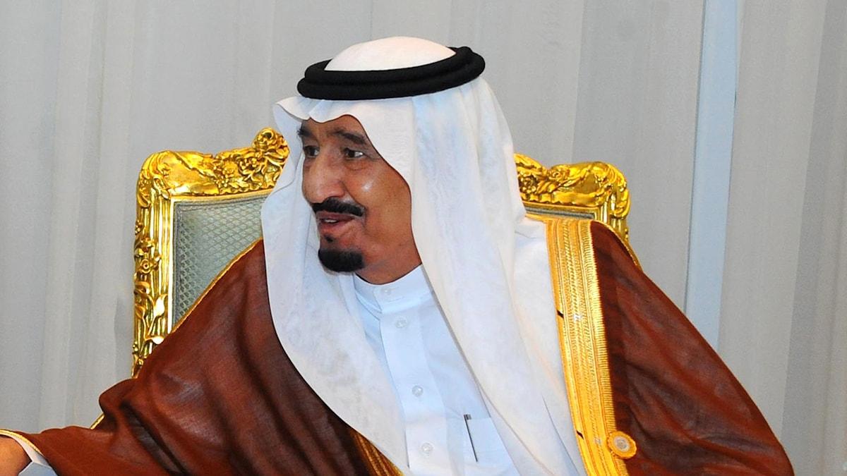 Saudiarabiens kung Salman bin Abdul Aziz. Foto: Mohammed Samaha/TT