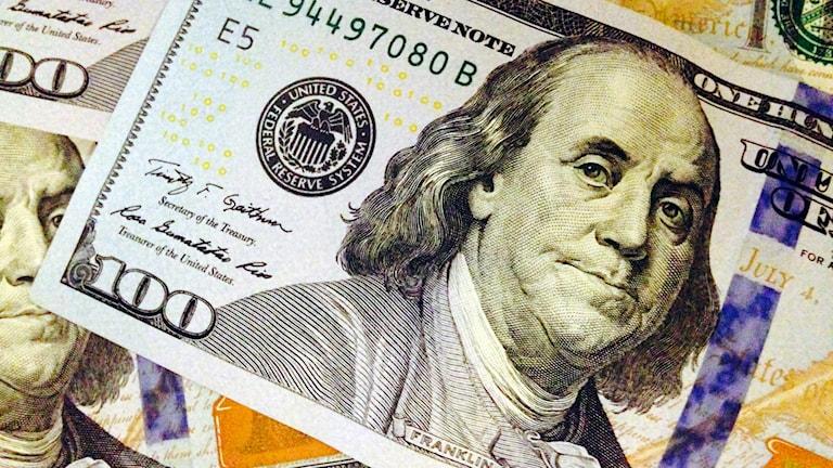Dollar, pengar, valuta, usa