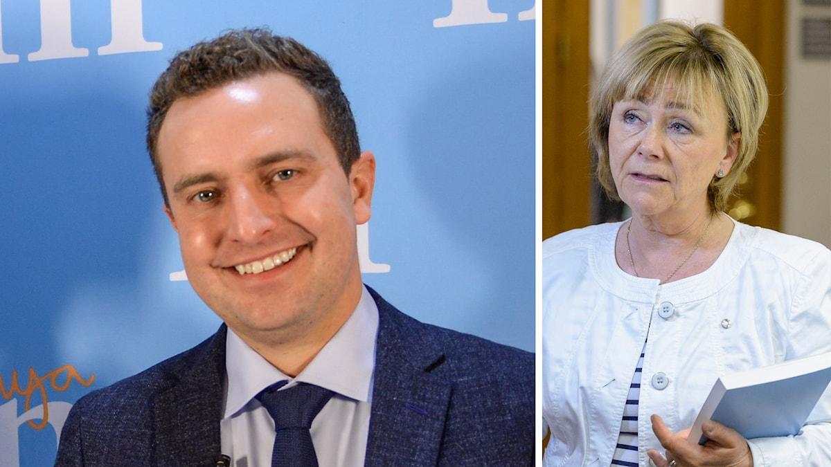 Tomas Tobé, Beatrice Ask, Moderaterna
