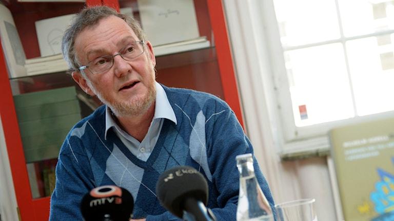 Professor Wilhelm Agrell. Foto: Leo Sellén/TT.