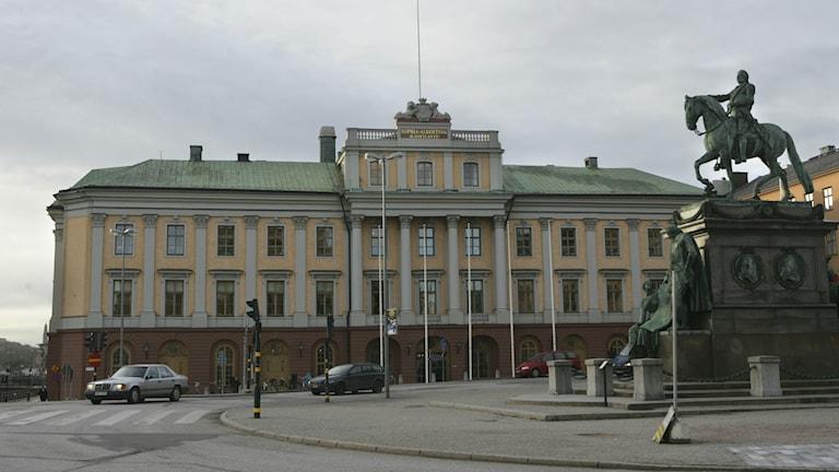 Utrikesdepartementet. Foto: Fredrik Sandberg/TT